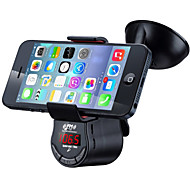 suporte para o carro inteligente para iphone e ipad / bluetooth car kit handsfree / fm transmissor da música para carro / carregador de