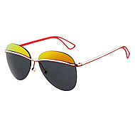 100% UV400 PC Browline Fashion Sunglasses