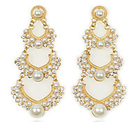 New Elegant Fashion Exquisite Pearl Earrings
