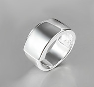Band Rings Sterling Silver Fashion Statement Jewelry Silver Jewelry Party 1pc