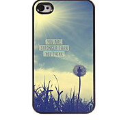 You Are Strong Than You Think Design Aluminum Hard Case for iPhone 4/4S