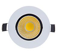 Bestlighting Lâmpada de Embutir Regulável 2G11 6 W 800-900 LM K Branco Quente / Branco Frio 1 COB 1 pç AC 220-240 V Giratória