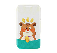 Kinston® Squirrel Nut Pattern PU Leather Full Body Case with Stand for Sony Xperia Z3