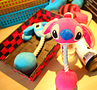 Stitch Angel Plush Toy Puppy Kitten Squeaky Sound Toy for Pets Dog Cat(Assorted Colors)