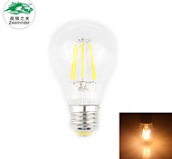 Zweihnder E27 6W 550LM 2700-3000K 6xLEDs Warm Light Tungsten Filament Lamp (new products,AC 85-265V,1Pcs)