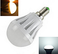 1 pcs  E14 7 W X SMD 2835 450-750 LM 2800-3500/6000-6500 K Warm White/Cool White Globe Bulbs AC 220-240 V