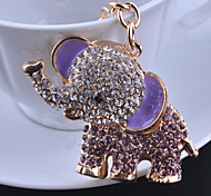 The Crown Elephant Key Chain