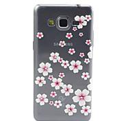 samsung galaxy grand principales G530 flores rosadas compatibles con diamante diseño TPU caso de la contraportada