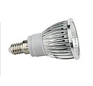 1 PC e27 5w 1x cob 380-450 lm 2800-3500 / 6000-6500k blanco caliente / blanco fresco luces ac 85-265v