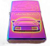 Bright Chrome Plated Color Exquisite Kerosene Lighter Coupe Style (Pattern Random Shipment)