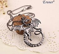 Eruner®Fashion Hot movie Game of Thrones Song of Ice And Fire power Game Targaryen Dragon Necklace