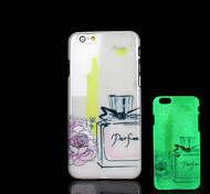 Perfume bottles Pattern Glow in the Dark Case for iPhone 6 Cover