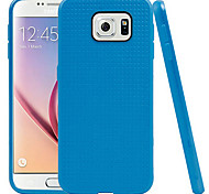 The Latest Model Samsung Galaxy S6 Silicone Phone Shell (Blue)
