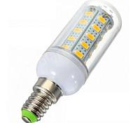 Lampadine a pannocchia 36LED SMD 5730 0EM C E14 7 W Intensità regolabile 1020lm LM Bianco caldo 1 pezzo AC 220-240 V