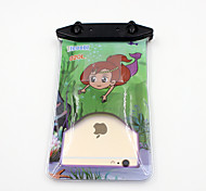Universal 6 Inch Cartoon PVC Waterproof Phone Case 10 Meters Underwater Phone Bag Pouch Dry No.020 (All Models)