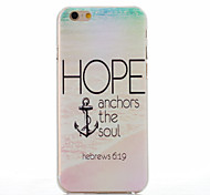 Beach Anchors Pattern PC Hard Case for iPhone 6