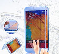 Dust flip translucent TPU Case for Samsung Galaxy Note 3(Assorted Colors)