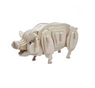 Solid Wood Puzzle Chinese Zodiac