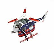 Foam Board Solar Powered Assembly Helicopter  Toys