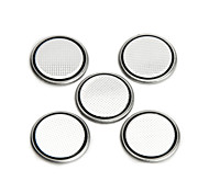 GD-LI-1 CR1616 3V 50mAh Lithium Button Battery - Silver (5 PCS)
