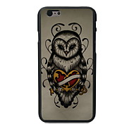 Unique Owl Design PC Hard Case for iPhone 6 Plus