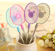 Badminton Racket Shape Ballpoint Pen(Random Color)
