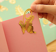 Pretty Cute Gold Metal Butterfly Clip Book Mark Reading Magazine Paper Label Bookmark