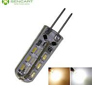 LED a pannocchia 24 SMD 3014 SENCART T G4 2W Decorativo 180-220 LM Bianco caldo / Luce fredda DC 12 / AC 220-240 / AC 12 V