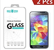 Magic Spider®0.2mm 2.5D Private Brand Damage Protection Tempered Glass Screen Protector for Samsung Galaxy S5 (2PCS)