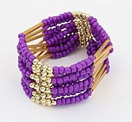 Fashion Alloy Handwork Beads Bracelet Strand Bracelets For Women Daily/Casual
