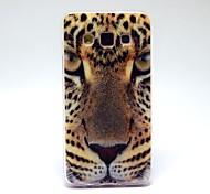 motif léopard TPU couverture souple pour Samsung Galaxy a3