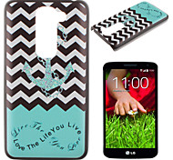 Waves Anchors Pattern PC Phone Case for LG G2 Mini