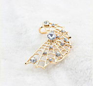 European Diamond Spider Web Alloy Ear Cuffs(1Pc)