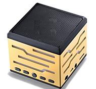 Mini Speaker with Bluetooh TF/USB/FM LED Light