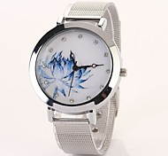 New Top Quality Fashion Blue and White Dial Women Quartz Dress Watch  C&D111
