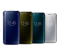 Para Samsung Galaxy Note Espejo Funda Cuerpo Entero Funda Un Color Policarbonato Samsung Note 4