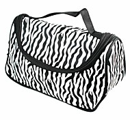 Black Snd White Stripes Fashion Cosmetic Bag