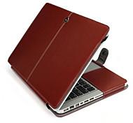 Apple MacBook Pro 15,4 Zoll Fall PU-lederner Kasten Stand Fallabdeckung für Apple MacBook Pro 15,4 '' (verschiedene Farben)