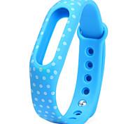 Ersatz tpu Punktmuster xiaomi miband Armband Armband für xiaomi Smart Uhr