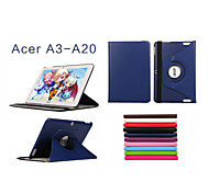 Stylish 360 Rotating Leather Smart Case for Acer Iconia A3-A20