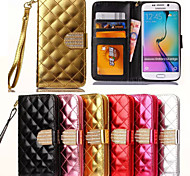GYM Bling Diamonds Full Body Case for Samsung Galaxy S6 Edge G9250(Assorted Color)