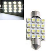 1.5W H1 Lichtdekoration 16 High Power LED 1000 lm Kühles Weiß Dekorativ DC 12 / DC 24 V 1 Stück