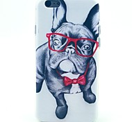 Eye Dog Pattern TPU Soft Case for iPhone 5C