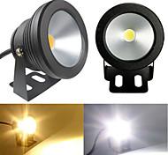 1 pç 10 W 1 LED de Alta Potência 900 LM Branco Quente/Branco Frio Giratória Lâmpada Subaquática AC 85-265 V