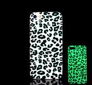 Leopardenmuster im Dunkeln leuchten Abdeckung für iPhone 4 / iphone 4s Fall