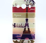 Para Funda Samsung Galaxy Diseños Funda Cubierta Trasera Funda Torre Eiffel TPU Samsung Ace 4