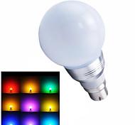 B22 LED Kugelbirnen 1 SMD 5730 100-400 lm RGB Ferngesteuert AC 85-265 V 1 Stück
