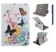 High Quality 360 Degree Rotation PU Leather with Stand Case for 10 Inch Universal and Pen  Tablet