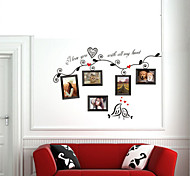 cadre photo sticker mural PVC