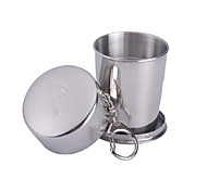 Fire-Maple FMP-302 Stainless Steel Telescopic Cup Cup 140ml Portable Outdoor Camping Hook